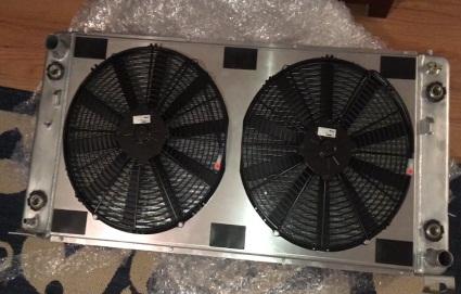 dual radiator fans